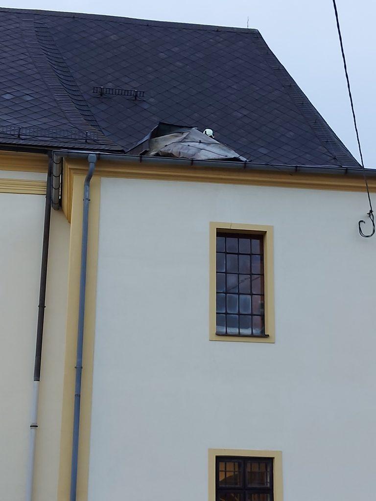 Kostel střecha